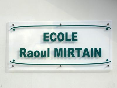 Ecole Raoul Mirtain
