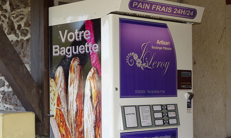 Distributeur automatique de pain
